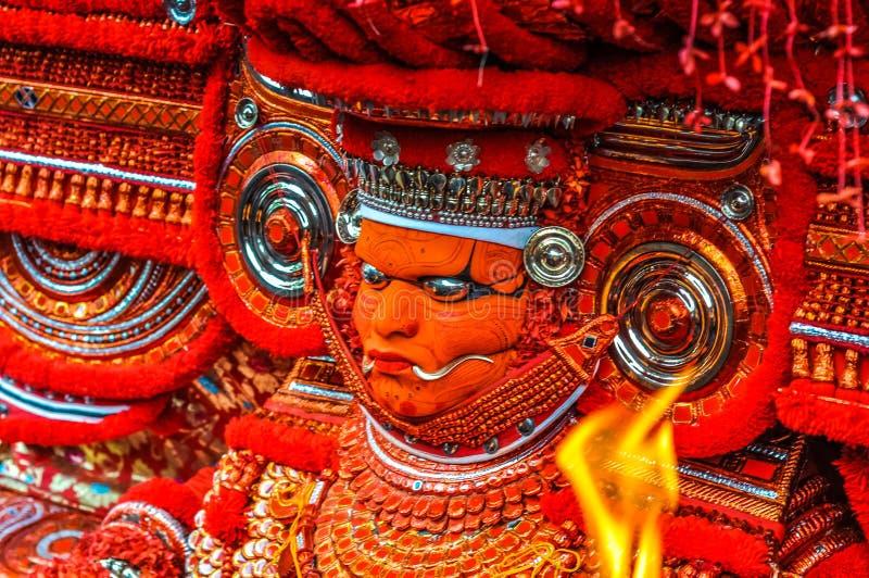 舞蹈家在喀拉拉 图库摄影