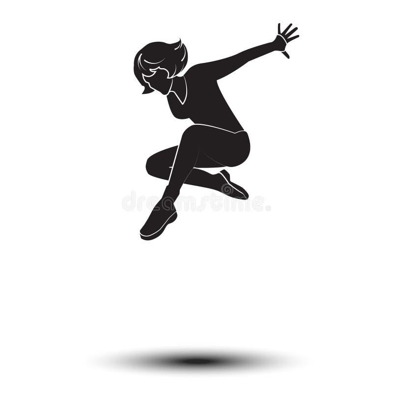 舞蹈家妇女 皇族释放例证
