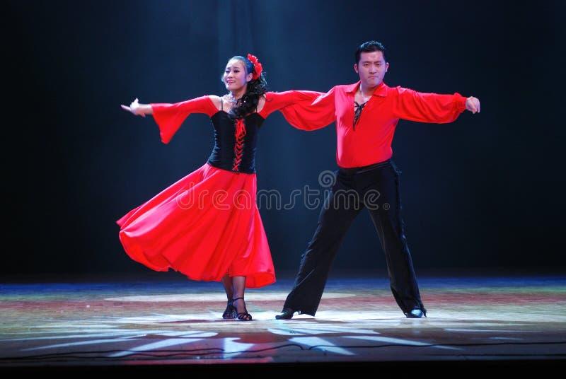 舞蹈拉丁 图库摄影