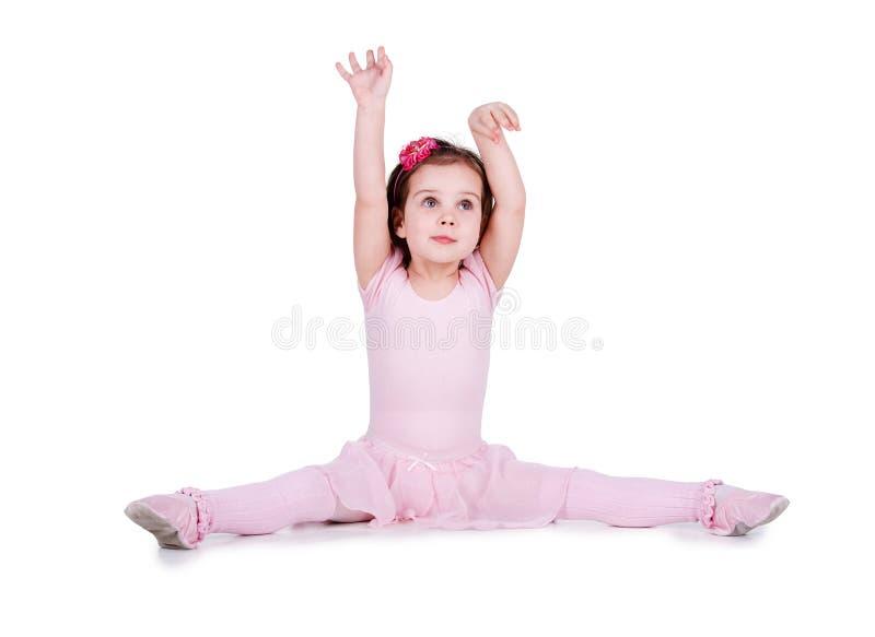 舞蹈演员一点 免版税库存照片