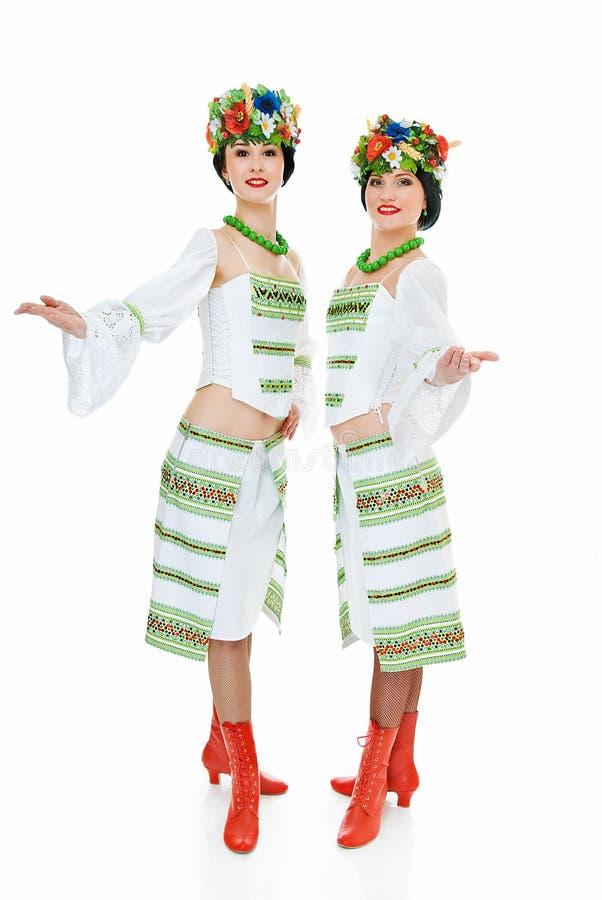 舞蹈演员二乌克兰语 库存图片