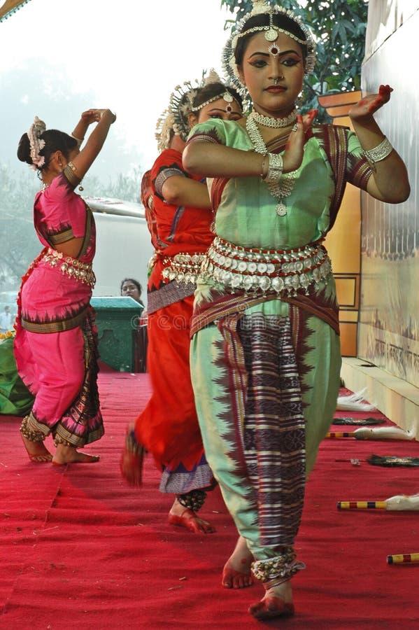 舞蹈演员印地安人 库存照片