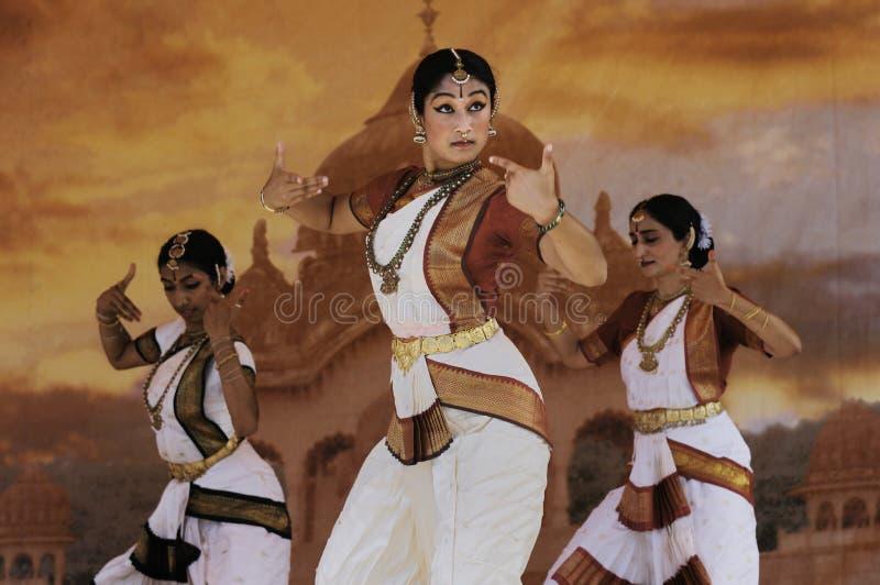 舞蹈演员印度 免版税库存照片