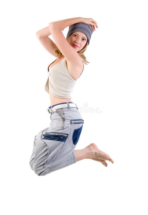 舞蹈演员女孩现代样式 库存图片
