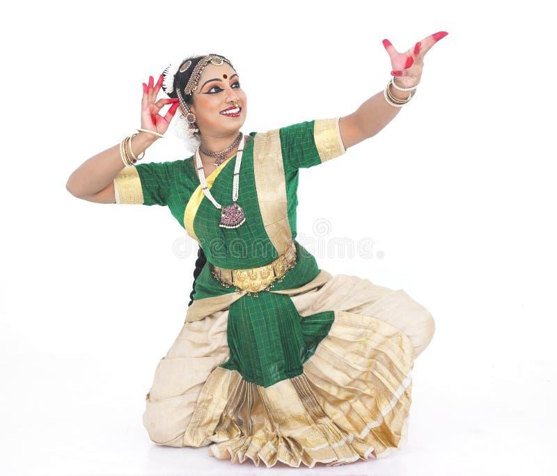 舞蹈演员女性印第安传统 免版税库存照片