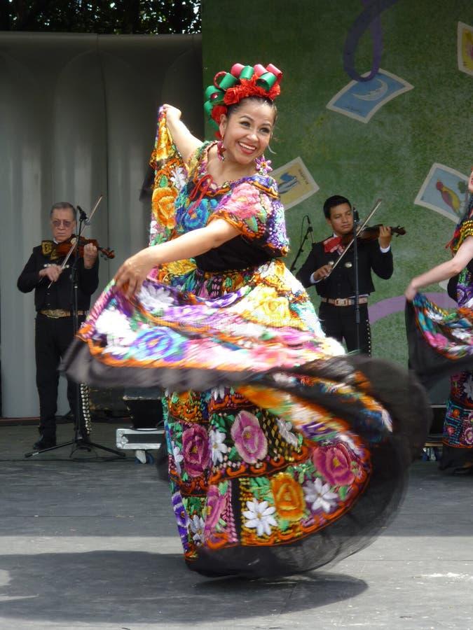 舞蹈演员妇女 库存图片