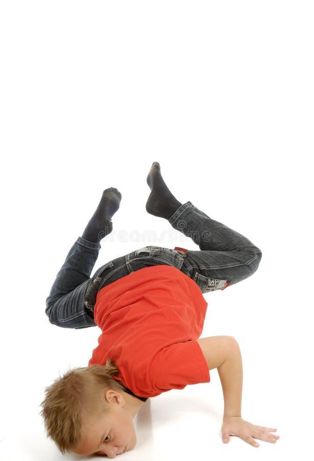 舞蹈演员年轻人 免版税库存照片