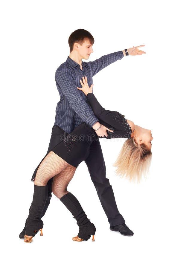 舞蹈演员忙碌 库存图片