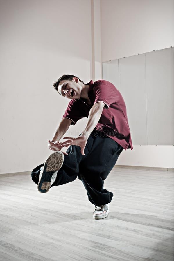 舞蹈演员情感工作室 库存照片