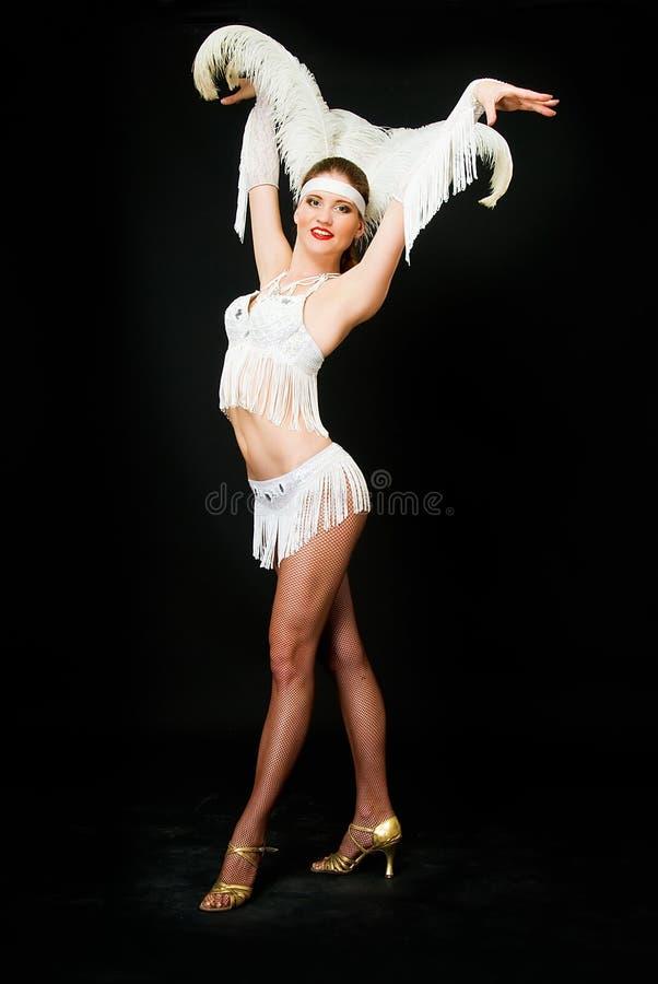 舞蹈演员拉丁美洲人 库存照片