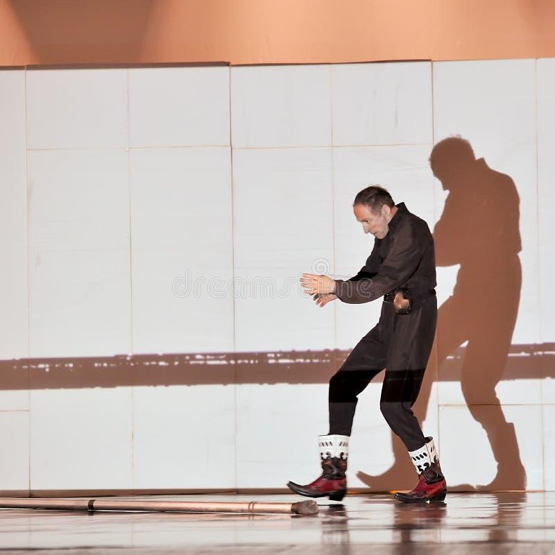 舞蹈演员法国现代 免版税库存图片