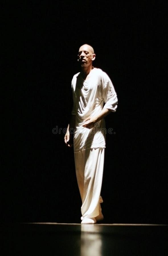 舞蹈演员法国Hip Hop米格尔nosibor 库存图片