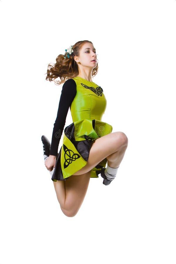 舞蹈演员爱尔兰语 库存图片