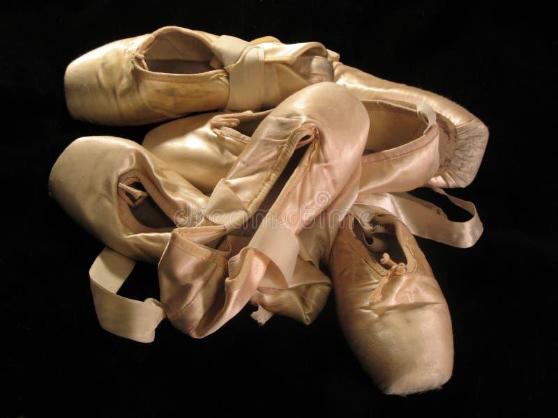 舞蹈演员的工具 免版税库存图片