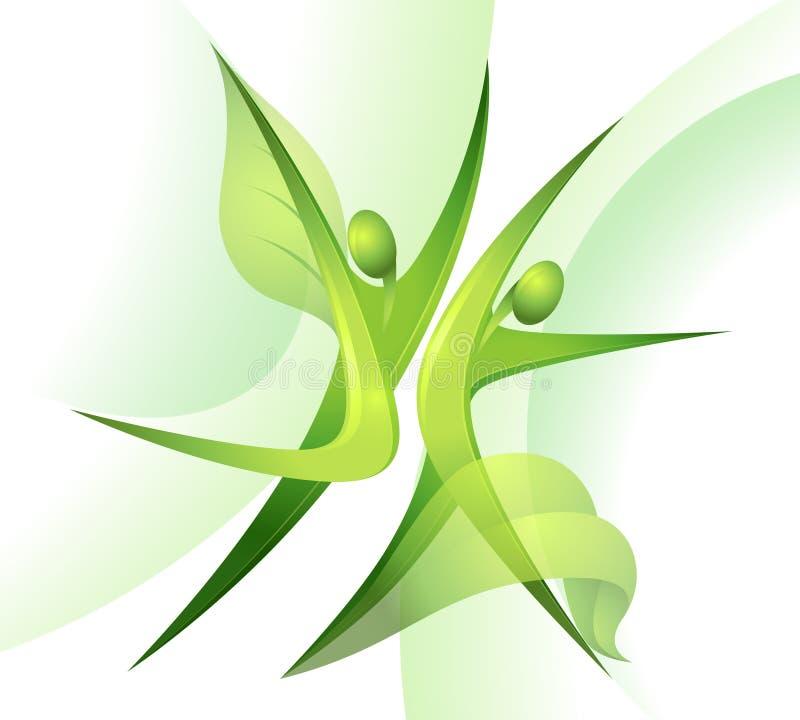 舞蹈演员绿色