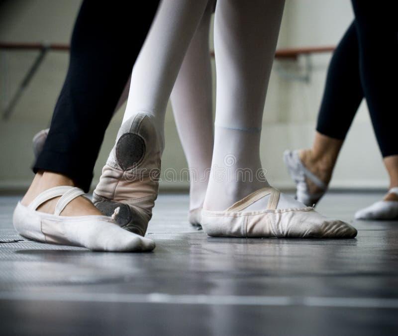 舞蹈演员英尺 免版税库存图片