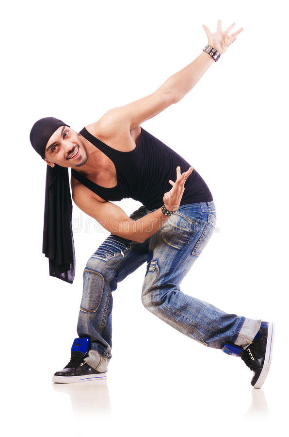 舞蹈演员跳舞 库存照片