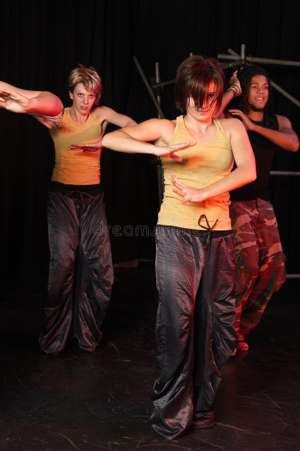 舞蹈演员阶段 库存图片