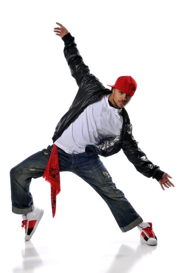 舞蹈演员Hip Hop样式 库存照片