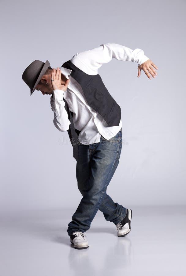 舞蹈演员Hip Hop 库存照片