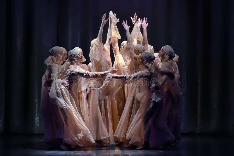 舞蹈表现 库存图片