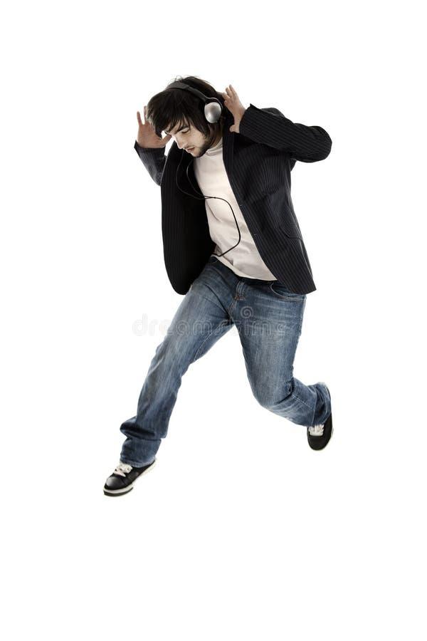 舞蹈跳 免版税库存照片