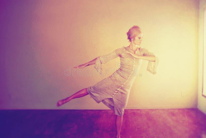 舞蹈 库存例证
