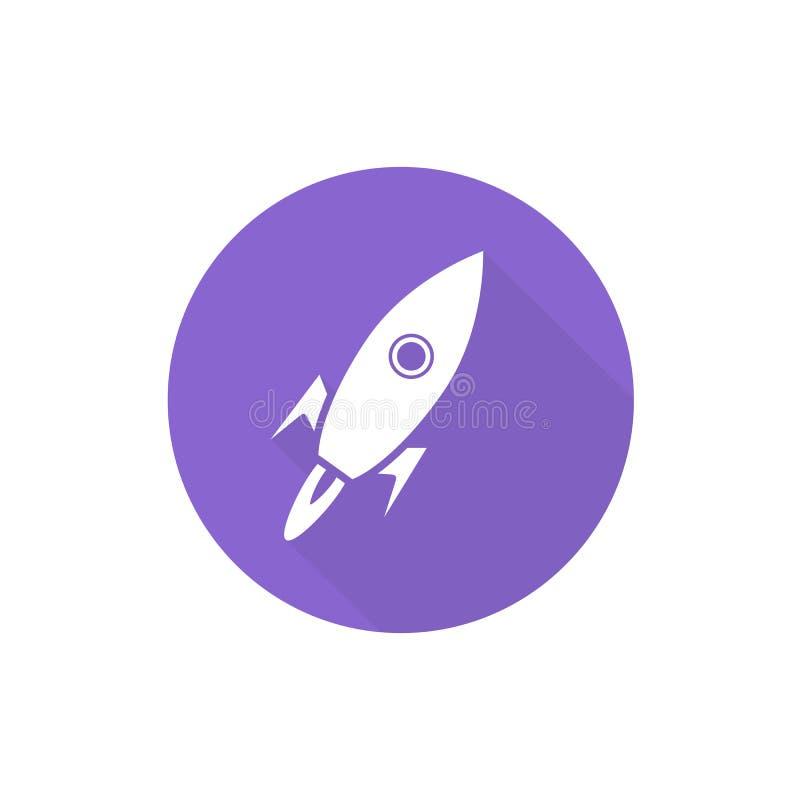 航天器标志例证 向量例证