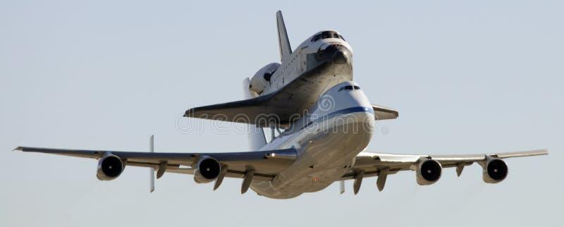航天飞机空间 免版税图库摄影