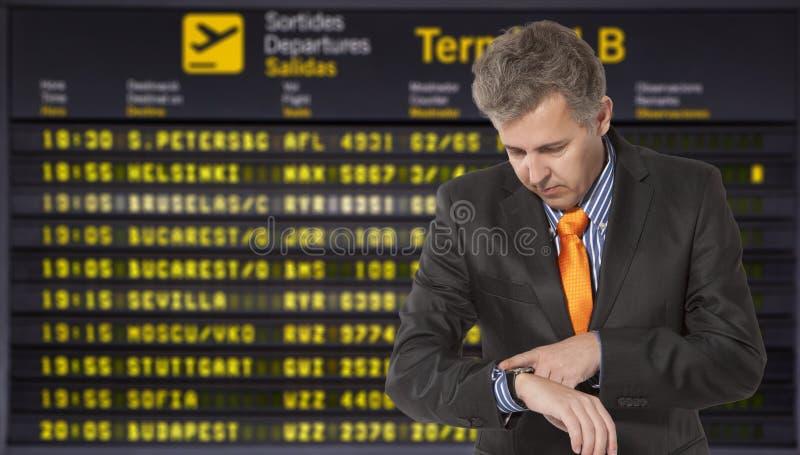 航班延误 库存图片