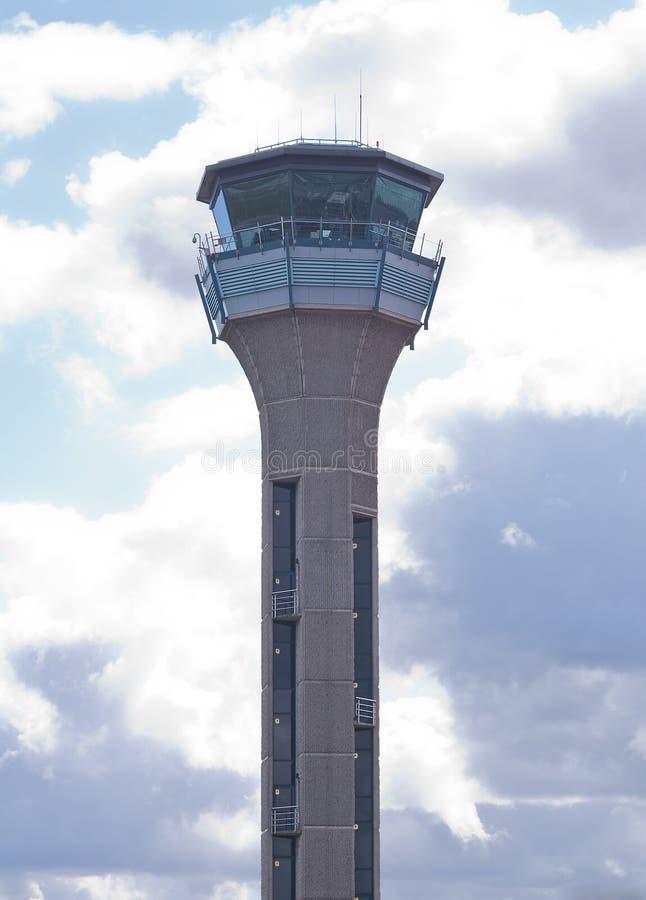 航空交通管制塔 免版税库存图片