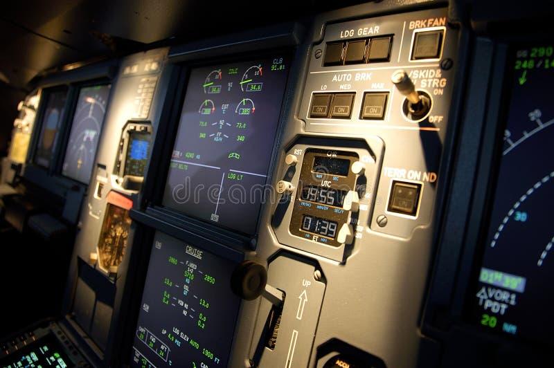 航空仪表 免版税库存照片