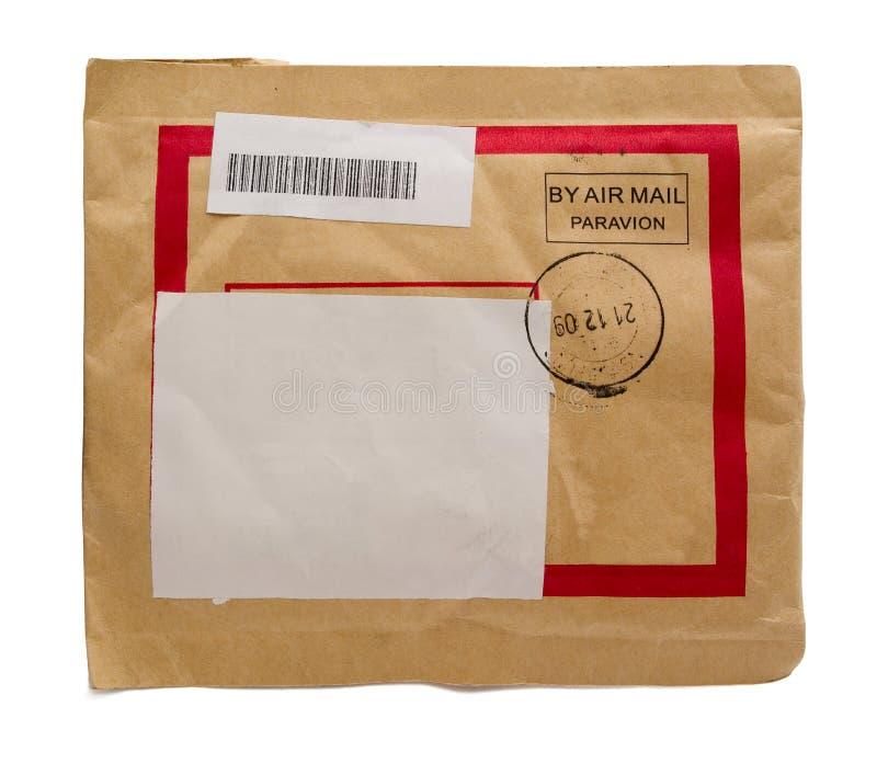 航空信包邮件 库存照片