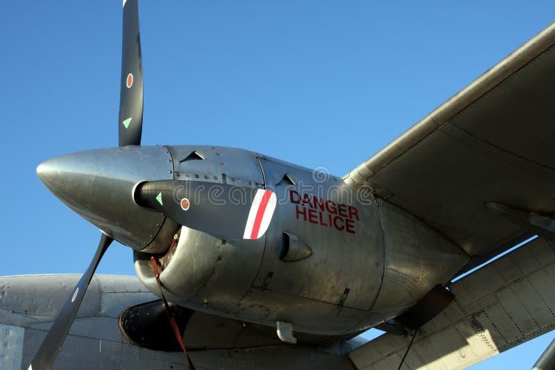 航空器发动机涡轮 免版税库存照片