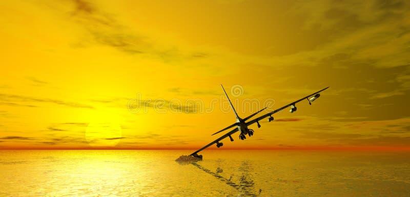 航空器失败的海运 免版税图库摄影