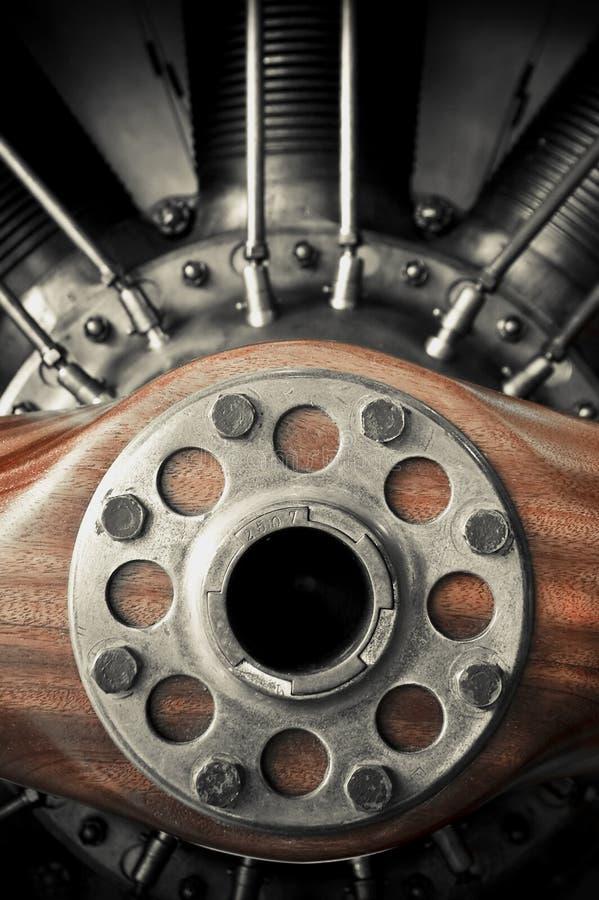 航空器推进器 库存照片