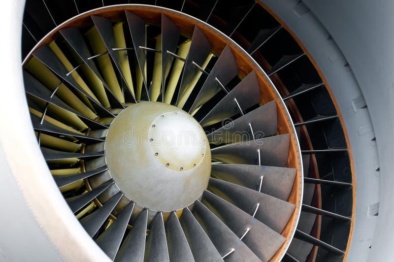 航空器详细资料引擎 免版税库存照片