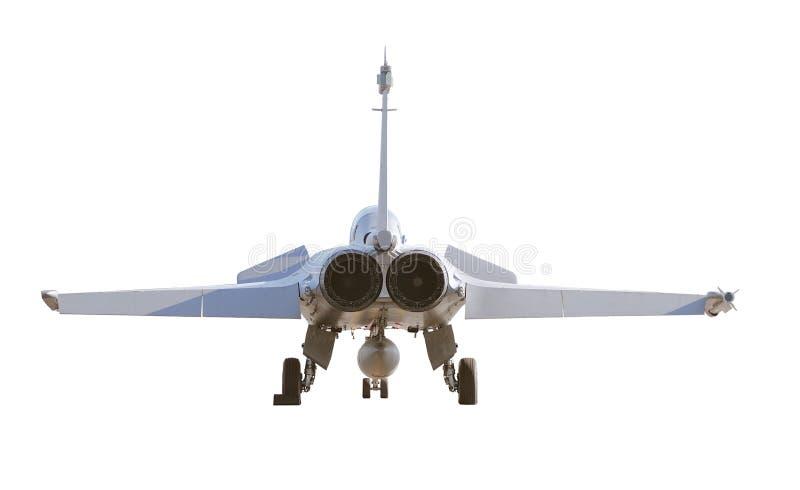 航空器达萨尔战斗机法国登陆的rafale 免版税库存图片