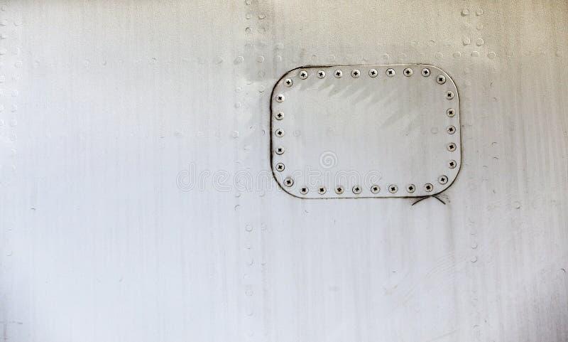 航空器金属金属 免版税库存图片