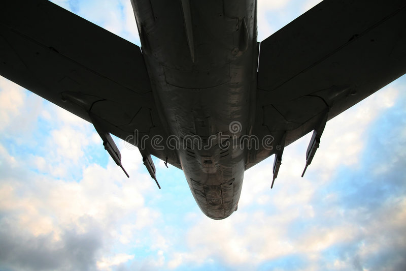 航空器陆军天空风暴 库存照片