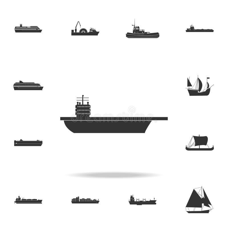 航空母舰象 详细的套水运输象 优质图形设计 其中一个网站的汇集象,我们 向量例证