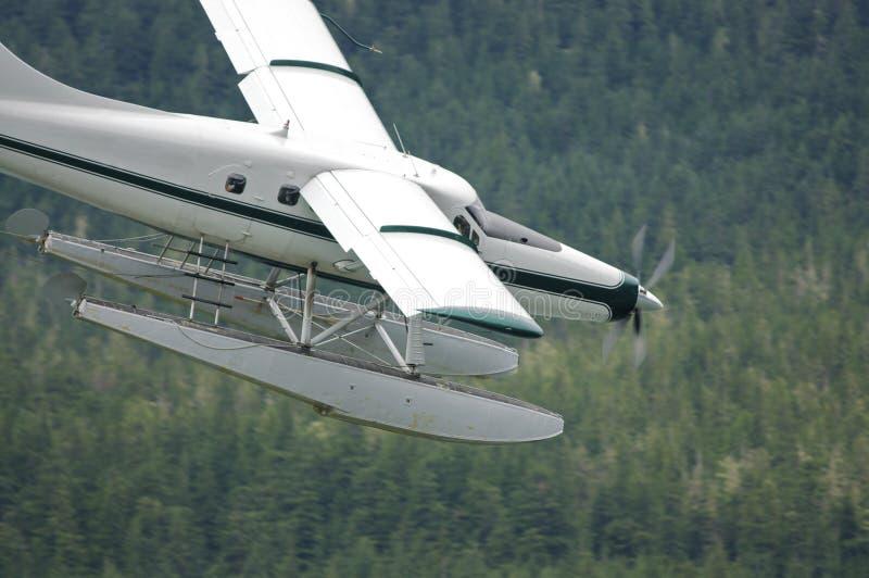 航空浮动飞机 免版税库存照片