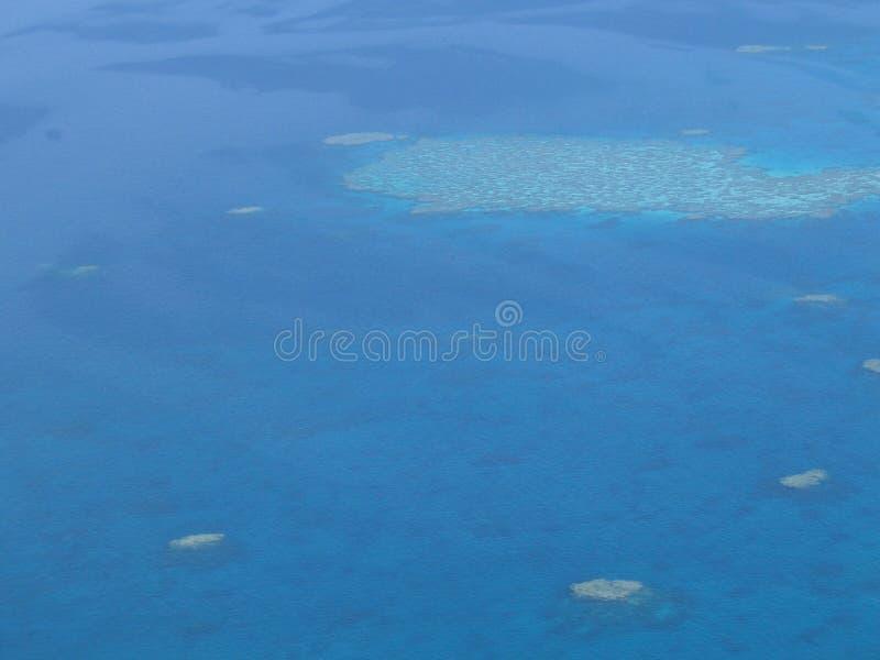 航空礁石 库存照片