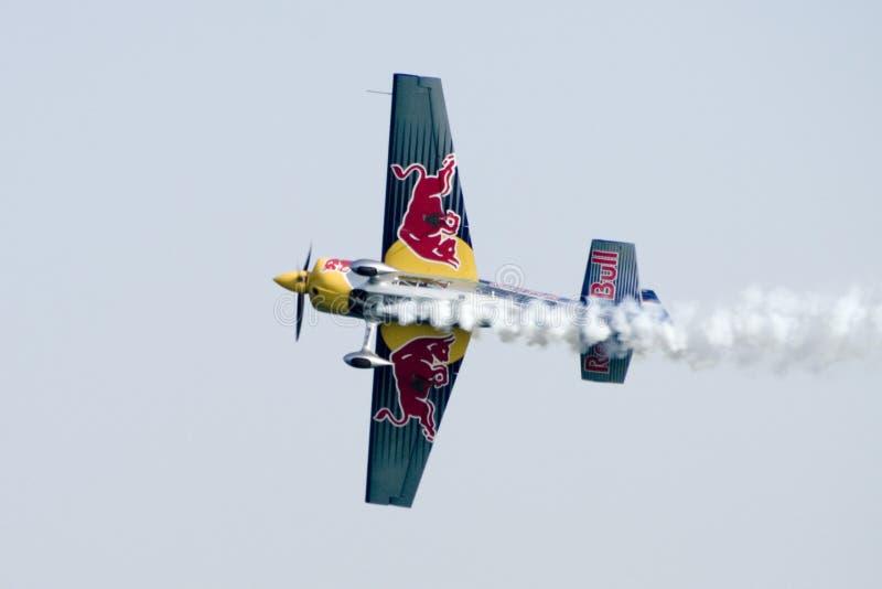 航空种族redbull 图库摄影