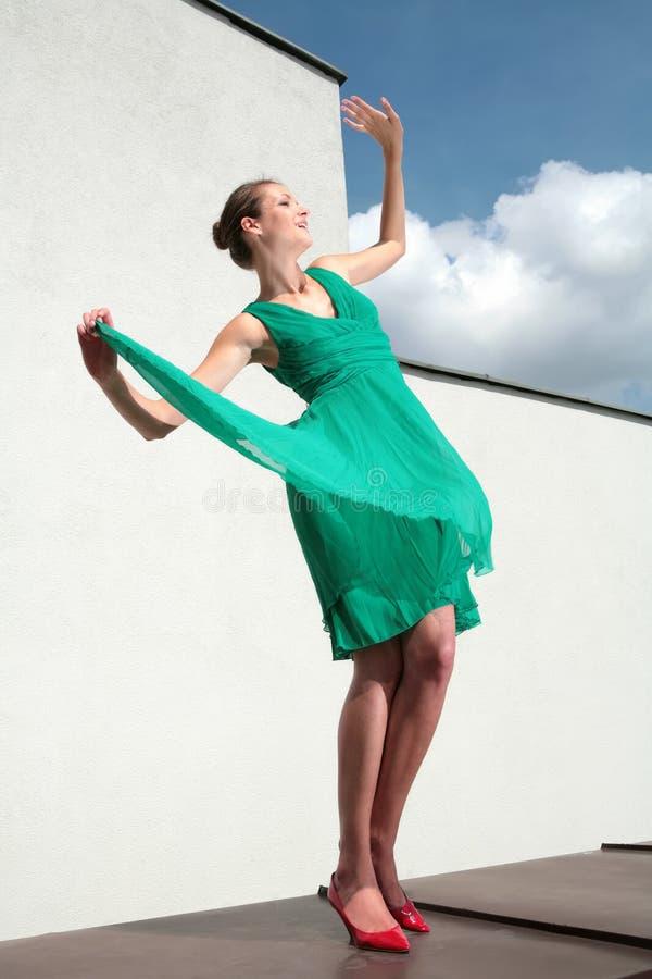 航空舞蹈 免版税库存图片