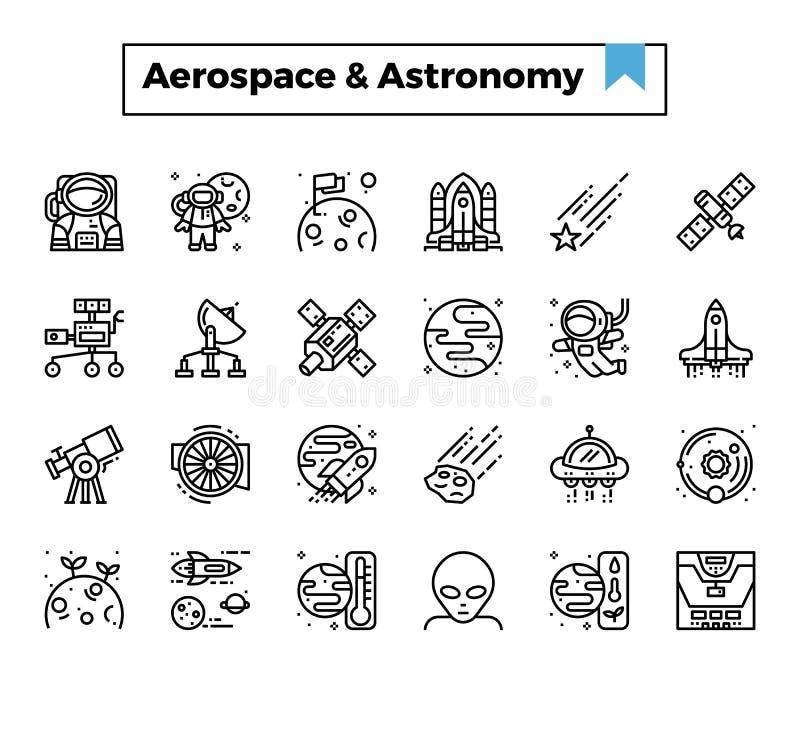 航空航天和天文 皇族释放例证