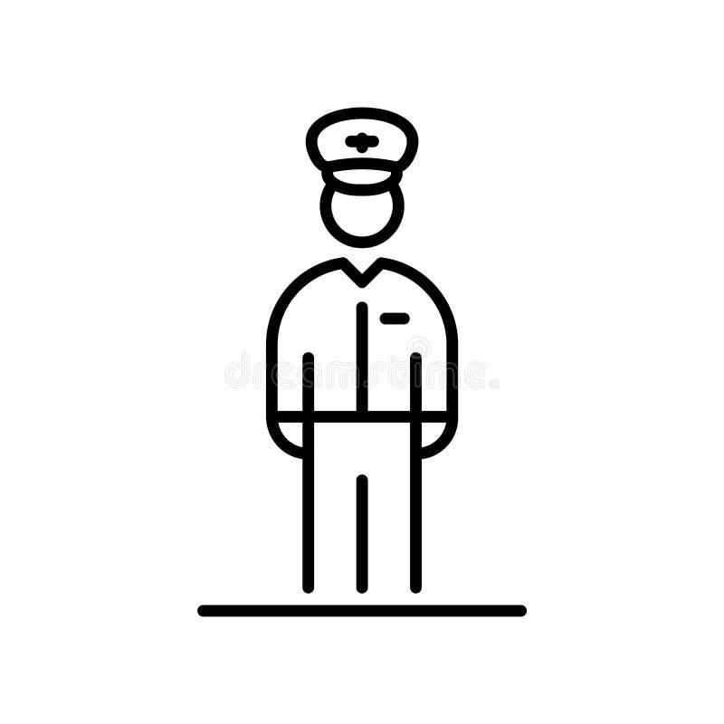 航空试验象具体化简单的平的样式例证 库存例证