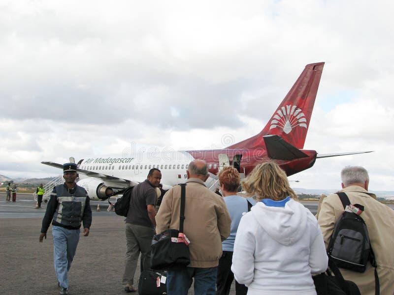 航空马达加斯加 免版税库存照片