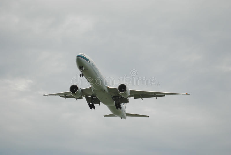 航空 天空 库存照片