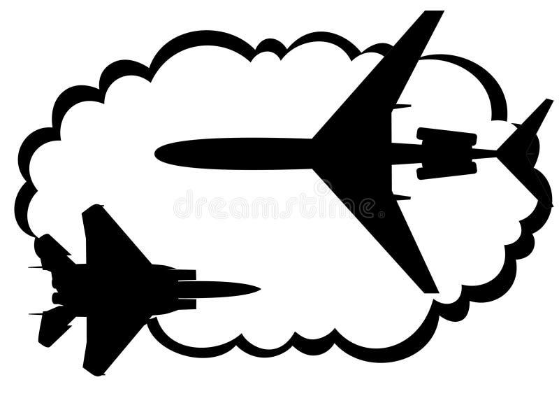 航空 向量例证